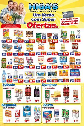 Higa's Supermercado catálogo promocional (válido de 10 até 17 07-02)