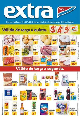 Extra Supermercado catálogo promocional (válido de 10 até 17 27-01)