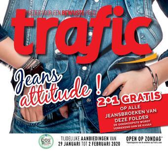 Trafic reclame folder (geldig t/m 04-02)
