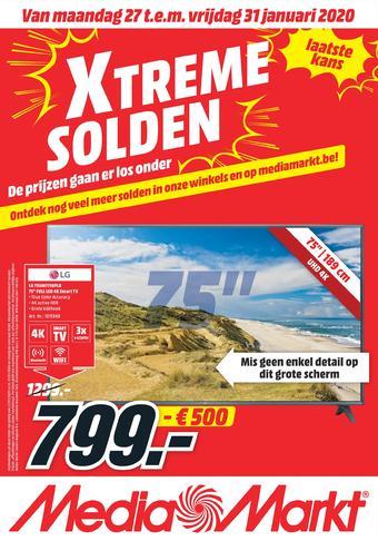MediaMarkt reclame folder (geldig t/m 31-01)