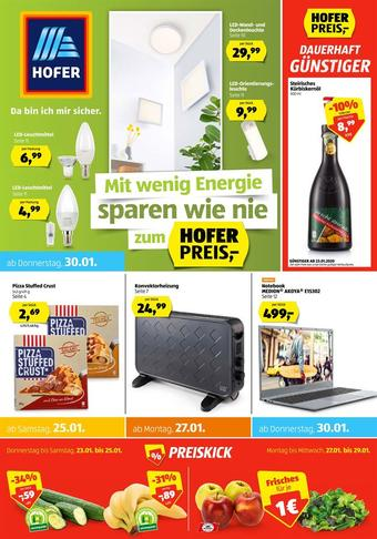 Hofer Werbeflugblatt (bis einschl. 01-02)