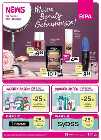 Bipa Werbeflugblatt (bis einschl. 05-02)