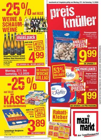 Maximarkt Werbeflugblatt (bis einschl. 01-02)