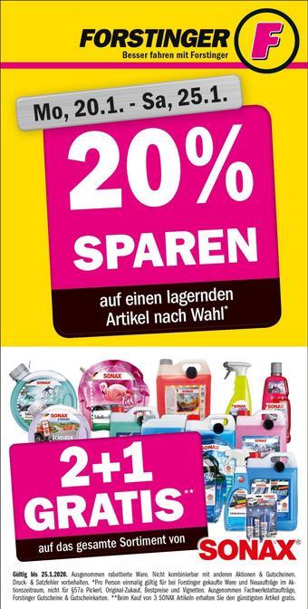 Forstinger Werbeflugblatt (bis einschl. 25-01)