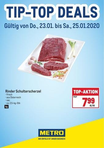 Metro Werbeflugblatt (bis einschl. 25-01)