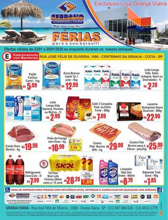 Serrano Supermercado catálogo promocional (válido de 10 até 17 29-01)