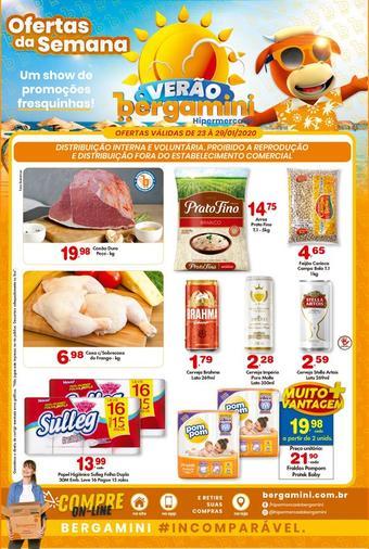 Supermercado Bergamini catálogo promocional (válido de 10 até 17 29-01)