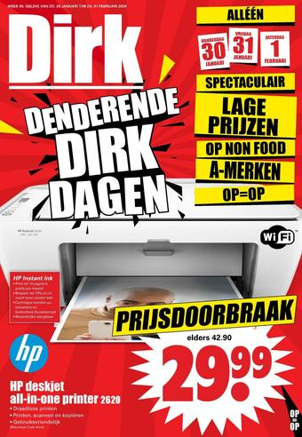 Dirk reclame folder (geldig t/m 01-02)