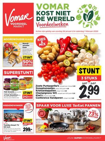 Vomar reclame folder (geldig t/m 01-02)