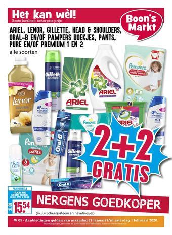 Boon`s Markt reclame folder (geldig t/m 01-02)