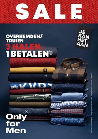 Only for Men reclame folder (geldig t/m 16-02)