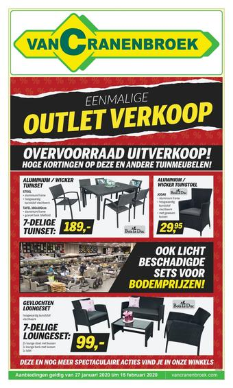 Van Cranenbroek reclame folder (geldig t/m 15-02)