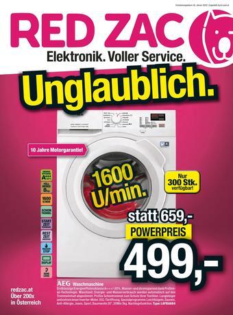 Red Zac Werbeflugblatt (bis einschl. 09-02)