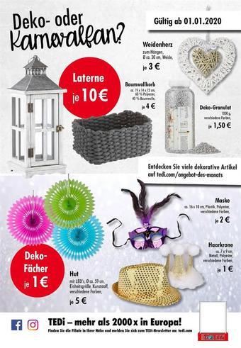 TEDi Werbeflugblatt (bis einschl. 31-01)