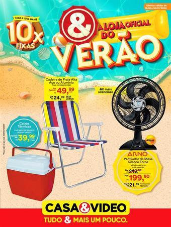 Casa e Vídeo catálogo promocional (válido de 10 até 17 30-01)