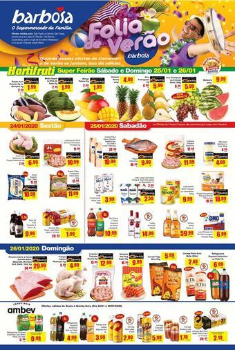 Barbosa Supermercados catálogo promocional (válido de 10 até 17 30-01)