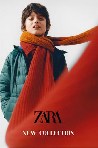 ZARA reclame folder (geldig t/m 17-02)