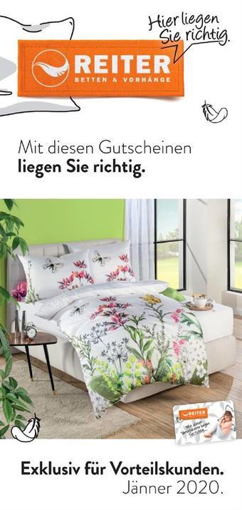 Reiter Werbeflugblatt (bis einschl. 31-01)