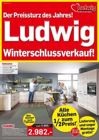 Möbel Ludwig Werbeflugblatt (bis einschl. 01-02)