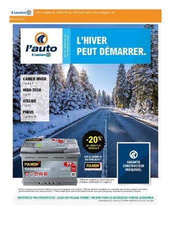 E.Leclerc L'Auto catalogue publicitaire (valable jusqu'au 15-02)