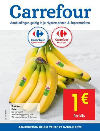 Carrefour Market reclame folder (geldig t/m 10-02)