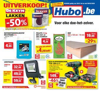 Hubo reclame folder (geldig t/m 09-02)