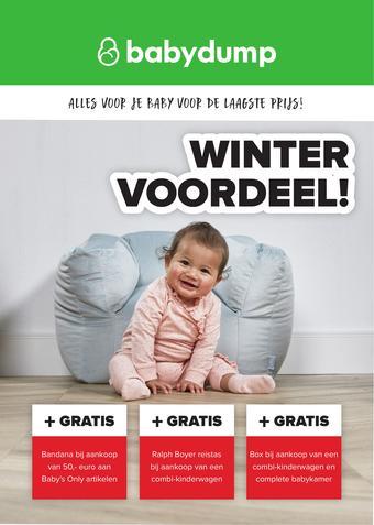 Baby-Dump reclame folder (geldig t/m 22-02)