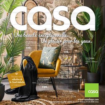 Casa catalogue publicitaire (valable jusqu'au 01-03)
