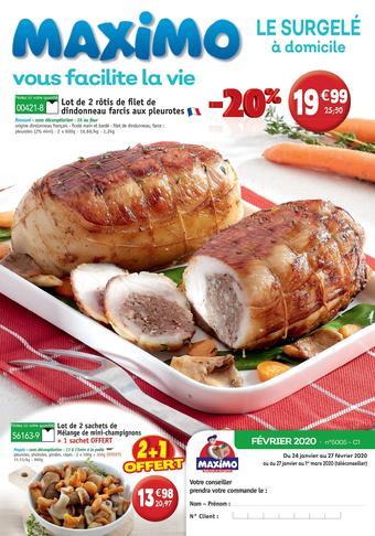 Maximo catalogue publicitaire (valable jusqu'au 27-02)
