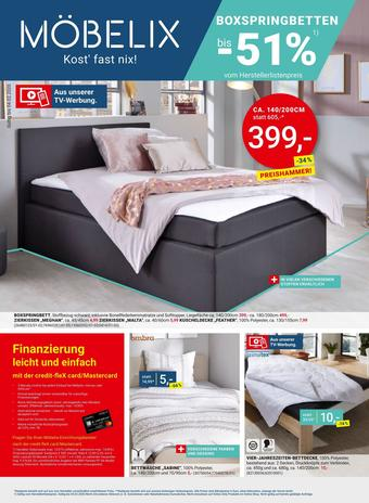 Möbelix Werbeflugblatt (bis einschl. 04-02)