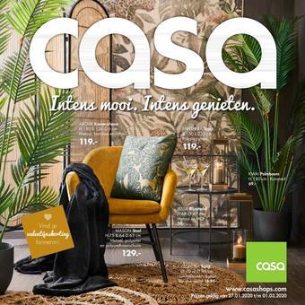 Casa reclame folder (geldig t/m 01-03)