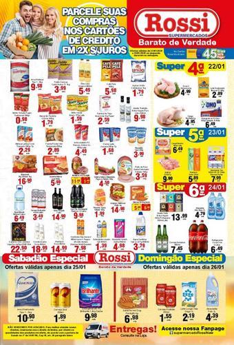 Rossi Supermercado catálogo promocional (válido de 10 até 17 28-01)