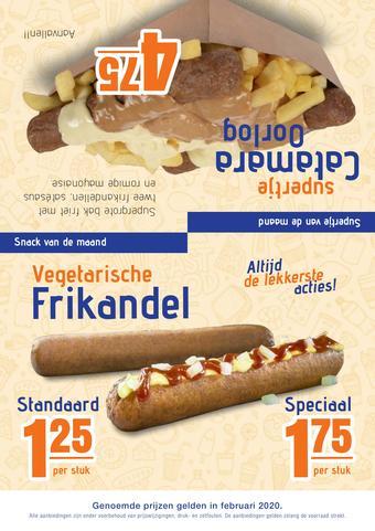 One 2 Eat reclame folder (geldig t/m 29-02)