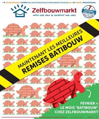 Zelfbouwmarkt reclame folder (geldig t/m 02-03)