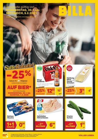 Billa Werbeflugblatt (bis einschl. 05-02)