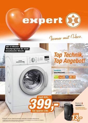 Expert Werbeflugblatt (bis einschl. 09-02)