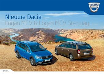 Dacia reclame folder (geldig t/m 31-12)
