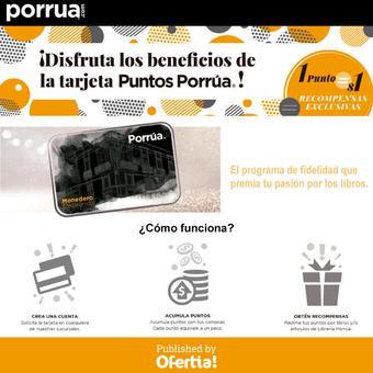 Librería Porrúa catálogo (válido hasta 17-07)