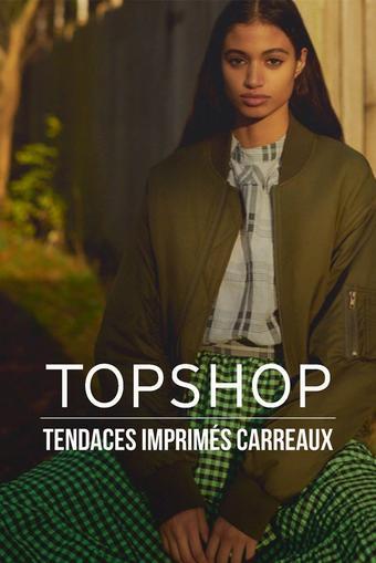 Topshop catalogue publicitaire (valable jusqu'au 26-03)