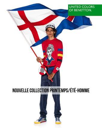 Benetton reclame folder (geldig t/m 30-03)