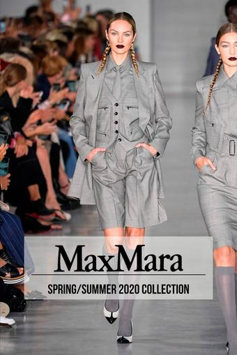 MaxMara reclame folder (geldig t/m 30-03)