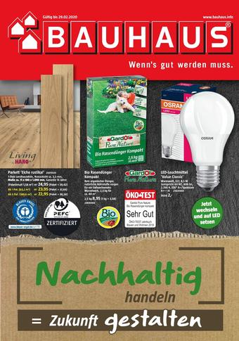 Bauhaus Prospekt (bis einschl. 29-02)