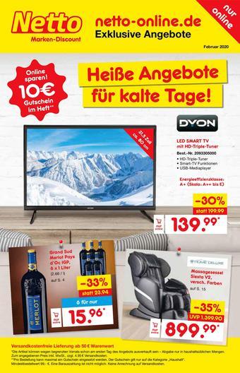Netto Marken-Discount Prospekt (bis einschl. 29-02)