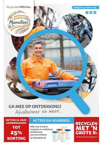 Manutan reclame folder (geldig t/m 29-02)
