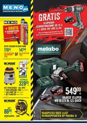 Meno Pro reclame folder (geldig t/m 31-03)