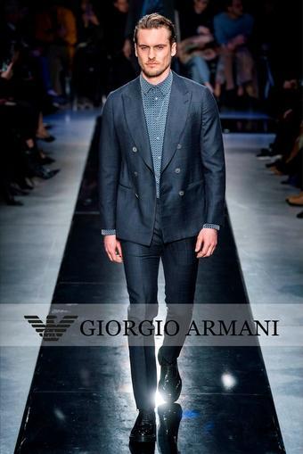 Armani reclame folder (geldig t/m 02-03)