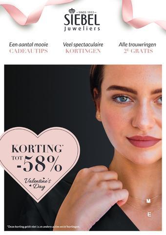 Siebel Juweliers reclame folder (geldig t/m 23-02)