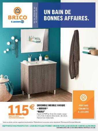 E.Leclerc Brico catalogue publicitaire (valable jusqu'au 22-02)