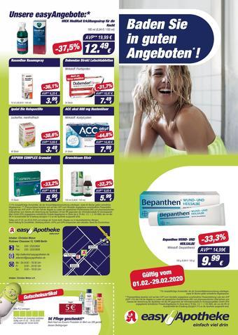 Easy Apotheke Prospekt (bis einschl. 29-02)
