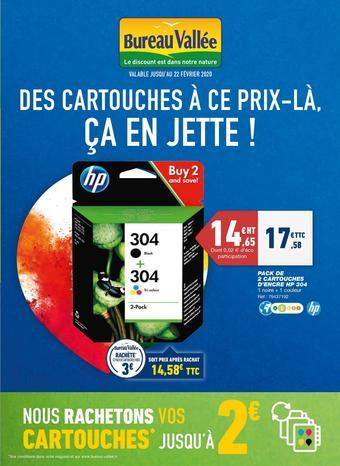 Bureau Vallée catalogue publicitaire (valable jusqu'au 22-02)